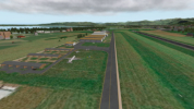 LSZR is equipped with two runways: pavement and grass.